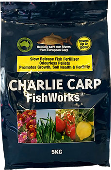 charlie car fishworks pellets